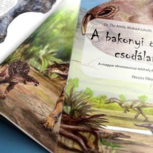 A bakonyi dinoszauruszok csodálatos világa könyv