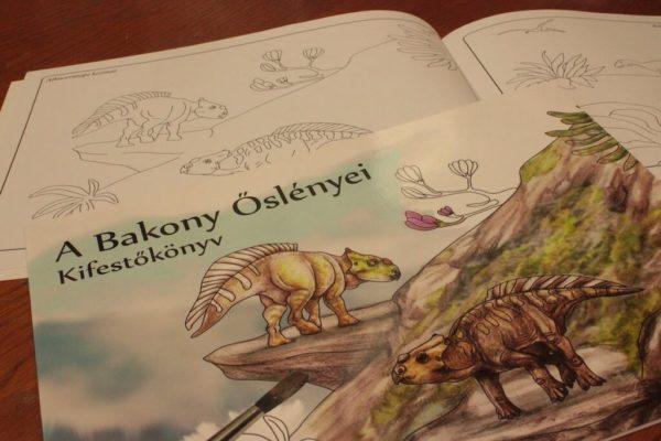 A Bakony Őslényei Kifestőkönyv