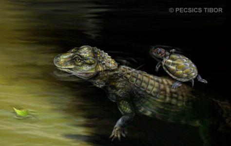 Iharkutosuchus makadii testrekonstrukciója