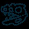dinoszaurusz-ikon